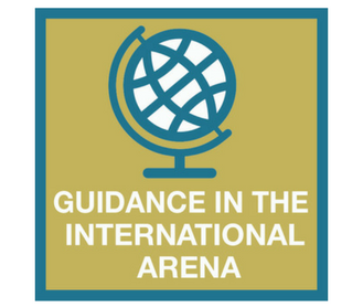 Guidance in the international arena